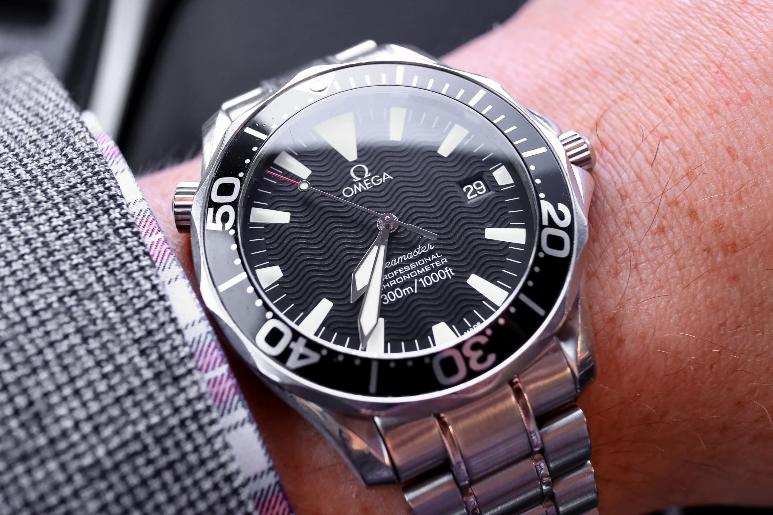 Omega Seamaster Professional 300m Review 2254 50 00 Two Broke Watch Snobs